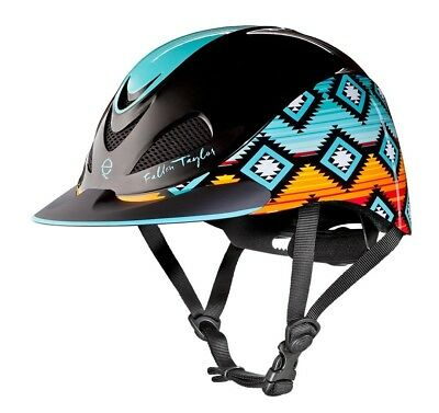 (Medium, Sunset Serape) - Troxel Fallon Taylor Performance Helmet