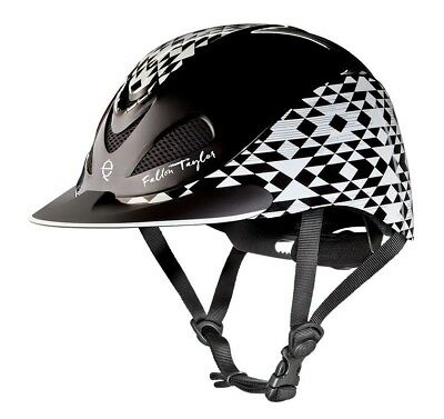 (Medium, Black Aztec) - Troxel Fallon Taylor Performance Helmet. Free Delivery