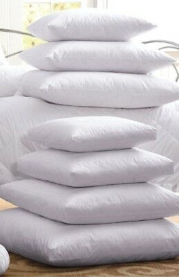 Multiple Sizes - High Quality- Polyester Pillow Inserts with Zippered Cover -