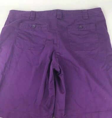 Just My Size Womens Shorts Size 22W Purple Style JM9291 Stretch #T47