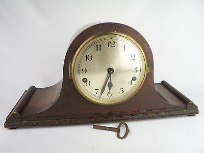 755 MANTEL CLOCK ENGLAND 1950s WESTMISTER COMFORT beauty on the fireplace repair