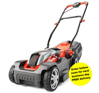 Flymo Mighty-Mo Cordless Wheeled Mower Brand New +Battery and Charger *SALE*