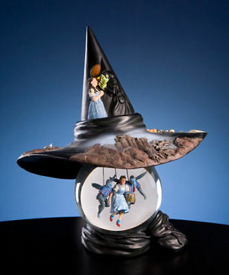 San Francisco Music Box Wizard of OZ Wicked Witch Hat Globe Doesn't Play Music