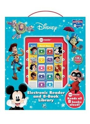 Disney Adventures Electronic Me Reader Activity Pad & 8 Book Library