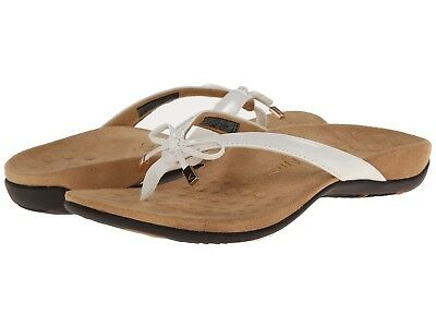 967aa20752f WOMEN S VIONIC BELLA II Bow Flip Flop Sandals White US Sizes ...