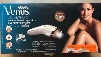 Gillette Venus Silk-expert IPL 5001  Hair Removal System OPEN BOX