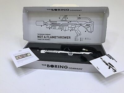🔥The Boring Company Not-a-Flamethrower (Brand New) Everything included! 🔥