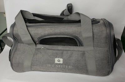 Jet Sitter Pet Carrier - Never Used - Grey - Up to 4Kg - Collapsible