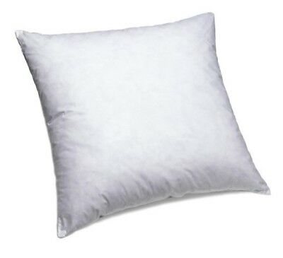 ComfyDown 95% Feather 5% Down, 13 X 13 Square Decorative Pillow Insert, Sham