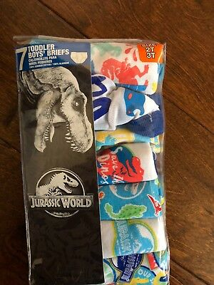 Jurassic World Toddler underwear size 2T/3T