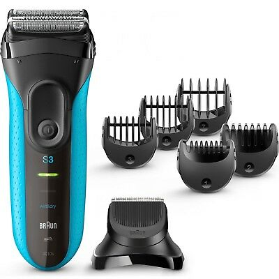 Braun Series 3 Shave & Style 3010BT 3-in-1 Electric Wet & Dry ProSkin Shaver