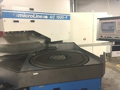Running! PETER WOLTERS AC 1000-F MICROLINE CNC FINE GRINDER DUAL LAPPING MACHINE