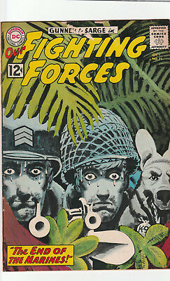 OUR FIGHTING FORCES #71 VG 4.0  DC War Sarge Gunner   GREY TONE COVER Classic