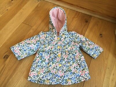 Baby Girls Marks & Spencer quilted & lined jacket Age 0 -  3   months