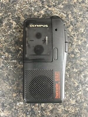 Olympus S921 Pearlcorder Micro Cassette Recorder