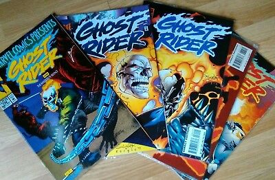 Marvel Comics Ghost Rider collection of 5