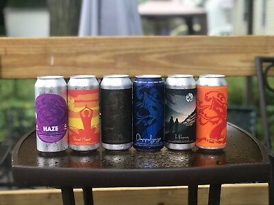 Tree House Brewing Mix 4pk Other Half Monkish Trillium