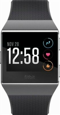 Fitbit Unisex Ionic Smartwatch Songs Pure Pulse continuous heart rate tracking