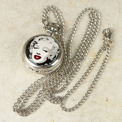 European Exquisite Classical Copper Carved Beauty Pocket Watch LB43+c