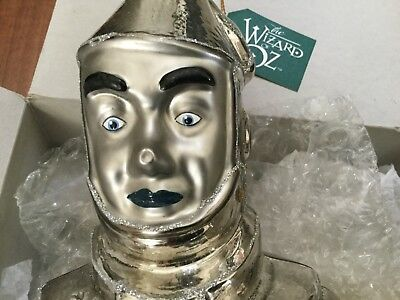 Kurt Adler Polonaise 1997 Wizard Of Oz Tin Man Glass Ornament.  New.