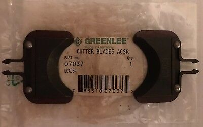 Greenlee 07037   UCACSR  Standard Guy Wire Cut Blades.  New unused