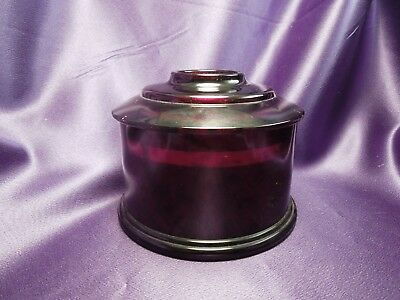 Dark Red Guerlain Parfumeur Container - Made in France