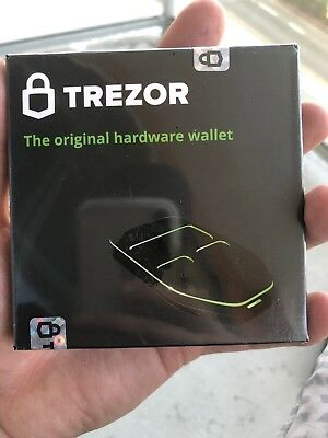 Brand New Trezor Hardware Wallet White
