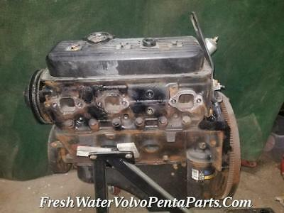GM 4.3L V6 Long Block engine Marine Motor 1994 299 Hours excellent Compression