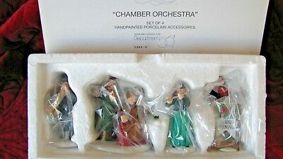Chamber Orchestra (Set of 4)~ 5884-0 ~ DEPT 56 ~ NIB - NEVER USED