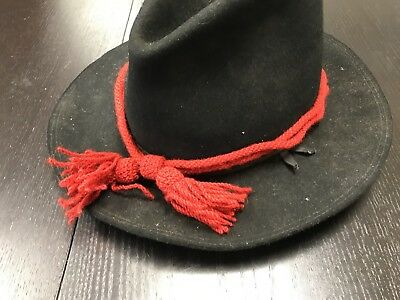 Civil War Union Army RED Wool Artillery Hat Cord - NEW reproduction, A+ quality.