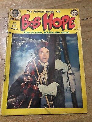 THE ADVENTURES of BOB HOPE 1950 Issue #1 Comic Book