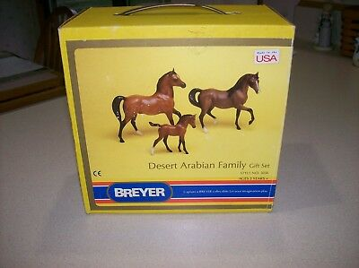 Breyer Desert Arabian Family Gift Set Style #3056  Retired