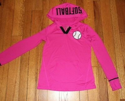 JUSTICE Softball HOODIE Excellent size 8