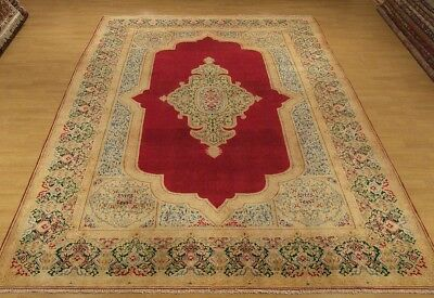 7 x 11.3 Handmade High Quality Antique Persiain Lavar Rug _Soft Fine Wool