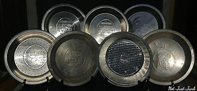 """Lot of 7 Vintage Pie Tins, """"(6) Bakers Square"""" & """"(1) Poppin Fresh Pies"""""""