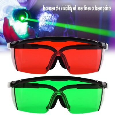 Laser Beam Veiw Visibility Vision Enhancement Glasses Goggle for Laser Level UK