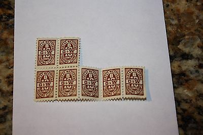 Great Western B Trading Stamps 10 Cents Un-Circulated Rare Collectable Vintage