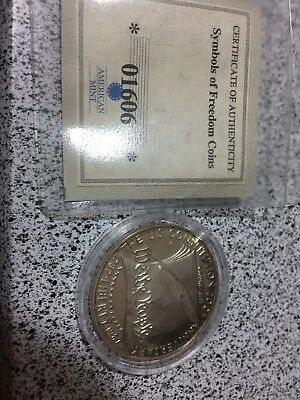 United States Mint $1 200th Anniversary Constitution Coin 1787-1987