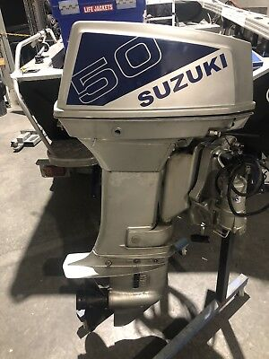 50hp Suzuki  Outboard Motor Dt50 (freight Available Wide )