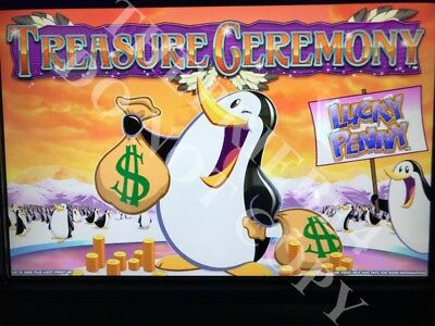 WMS LUCKY PENNY TREASURE CEREMONY! Software BB2 Williams Bluebird 2 Game