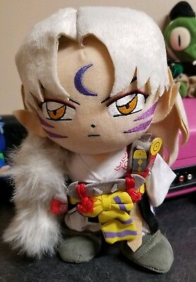 Sesshomaru 8 Inch Plush With Tags Inuyasha Doll Plushie