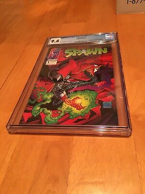 Spawn #1 (May 1992, Image) CGC 9.6 New Clean Graded Case. Awesome!