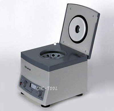 Desktop Electric Digital Medical Laboratory Centrifuge 4000rpm 12*20ml 220V