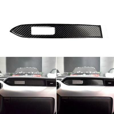 For Ford Mustang 2015-2017 Panel Carbon Fiber Decorative Cover Trim Sticker