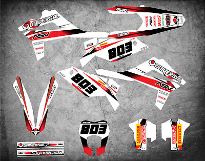 Custom Graphics Full Kit to Fit Gas Gas EC 250 300 2012 2013 2014 STORM stickers