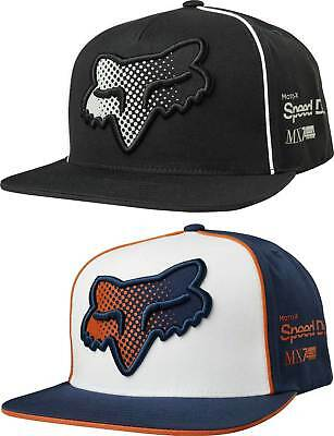 huge discount dae8a c4f59 ... france fox racing murc toner snapback hat adult mens guys lid cap mx  atv mtb d63f1