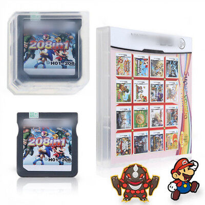 208 in 1 Game Cartridge for DS NDS 3DS Video Game Naruto