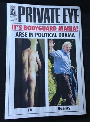 PRIVATE EYE MAGAZINE Issue No. 1478 7th-20th Sept 2018 VGC