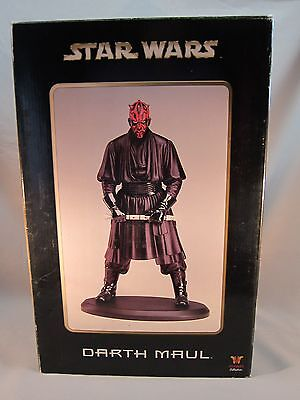 Darth Maul Attakus Large Star Wars Statue~The Phantom Menace~By Bombyx~Limited E
