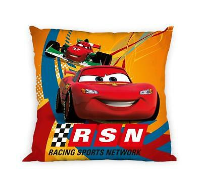 NEW DISNEY CARS McQueen RSN cushion cover 40x40cm 100% cotton pillow case